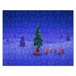 Walking Christmas Tree In Holiday Jigsaw Puzzle (Rectangular)