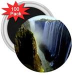 Victoria Falls Zambia 3  Magnet (100 pack)