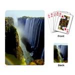 Victoria Falls Zambia Playing Cards Single Design