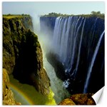 Victoria Falls Zambia Canvas 16  x 16
