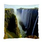 Victoria Falls Zambia Cushion Case (One Side)