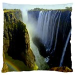 Victoria Falls Zambia Large Cushion Case (Two Sides)