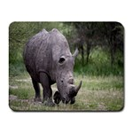 Wild Animal Rhino Small Mousepad