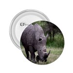 Wild Animal Rhino 2.25  Button