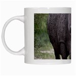 Wild Animal Rhino White Mug