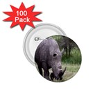 Wild Animal Rhino 1.75  Button (100 pack)