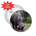 Wild Animal Rhino 2.25  Button (100 pack)