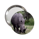 Wild Animal Rhino 2.25  Handbag Mirror