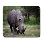 Wild Animal Rhino Large Mousepad