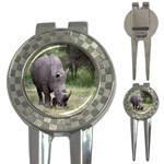 Wild Animal Rhino 3-in-1 Golf Divot