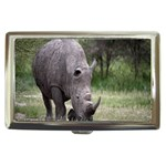 Wild Animal Rhino Cigarette Money Case