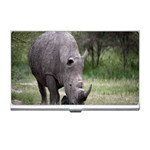Wild Animal Rhino Business Card Holder