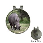 Wild Animal Rhino Golf Ball Marker Hat Clip