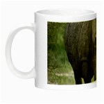 Wild Animal Rhino Night Luminous Mug
