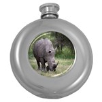 Wild Animal Rhino Hip Flask (5 oz)