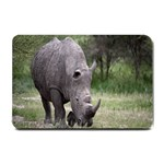 Wild Animal Rhino Small Doormat