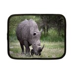Wild Animal Rhino Netbook Case (Small)