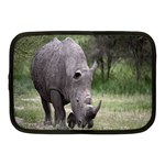 Wild Animal Rhino Netbook Case (Medium)
