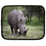Wild Animal Rhino Netbook Case (Large)