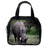 Wild Animal Rhino Classic Handbag (One Side)