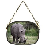 Wild Animal Rhino Chain Purse (One Side)