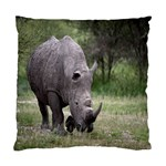 Wild Animal Rhino Cushion Case (One Side)