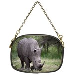 Wild Animal Rhino Chain Purse (Two Sides)