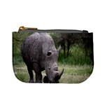 Wild Animal Rhino Mini Coin Purse