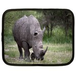 Wild Animal Rhino Netbook Case (XXL)