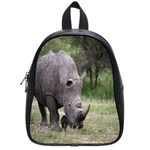 Wild Animal Rhino School Bag (Small)