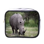 Wild Animal Rhino Mini Toiletries Bag (One Side)