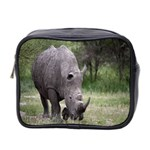 Wild Animal Rhino Mini Toiletries Bag (Two Sides)