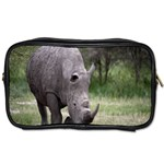 Wild Animal Rhino Toiletries Bag (Two Sides)
