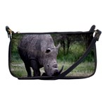 Wild Animal Rhino Shoulder Clutch Bag
