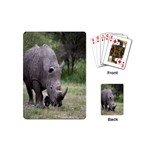 Wild Animal Rhino Playing Cards (Mini)