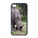 Wild Animal Rhino Apple iPhone 4 Case (Black)