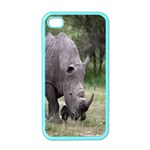 Wild Animal Rhino Apple iPhone 4 Case (Color)