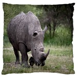 Wild Animal Rhino Large Cushion Case (Two Sides)
