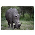 Wild Animal Rhino Cosmetic Bag (XXL)