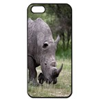 Wild Animal Rhino Apple iPhone 5 Seamless Case (Black)