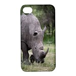 Wild Animal Rhino Apple iPhone 4/4S Hardshell Case with Stand