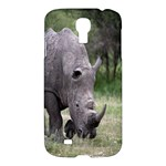 Wild Animal Rhino Samsung Galaxy S4 I9500 Hardshell Case