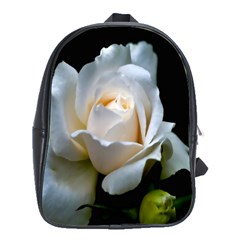 White Roses School Bag (Large) from DesignYourOwnGift.com Front