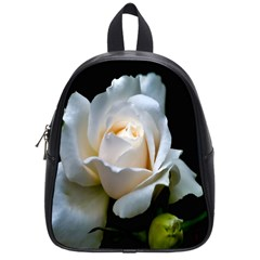 White Roses School Bag (Small) from DesignYourOwnGift.com Front