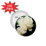 White Rose 1.75  Button (100 pack)
