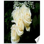 White Rose Canvas 20  x 24