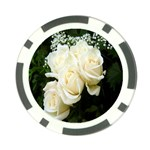 White Rose Poker Chip Card Guard (10 pack)
