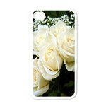 White Rose Apple iPhone 4 Case (White)
