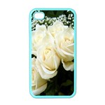 White Rose Apple iPhone 4 Case (Color)