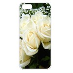 White Rose Apple iPhone 5 Seamless Case (White)